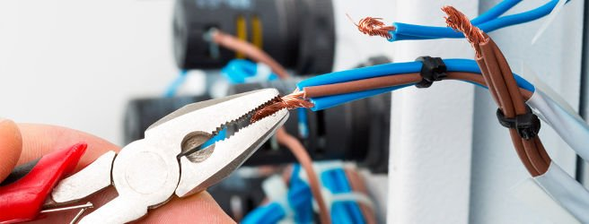 услуги электрика, замена проводки